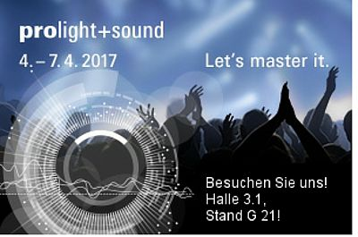 Logo Prolight & Sound 2017
